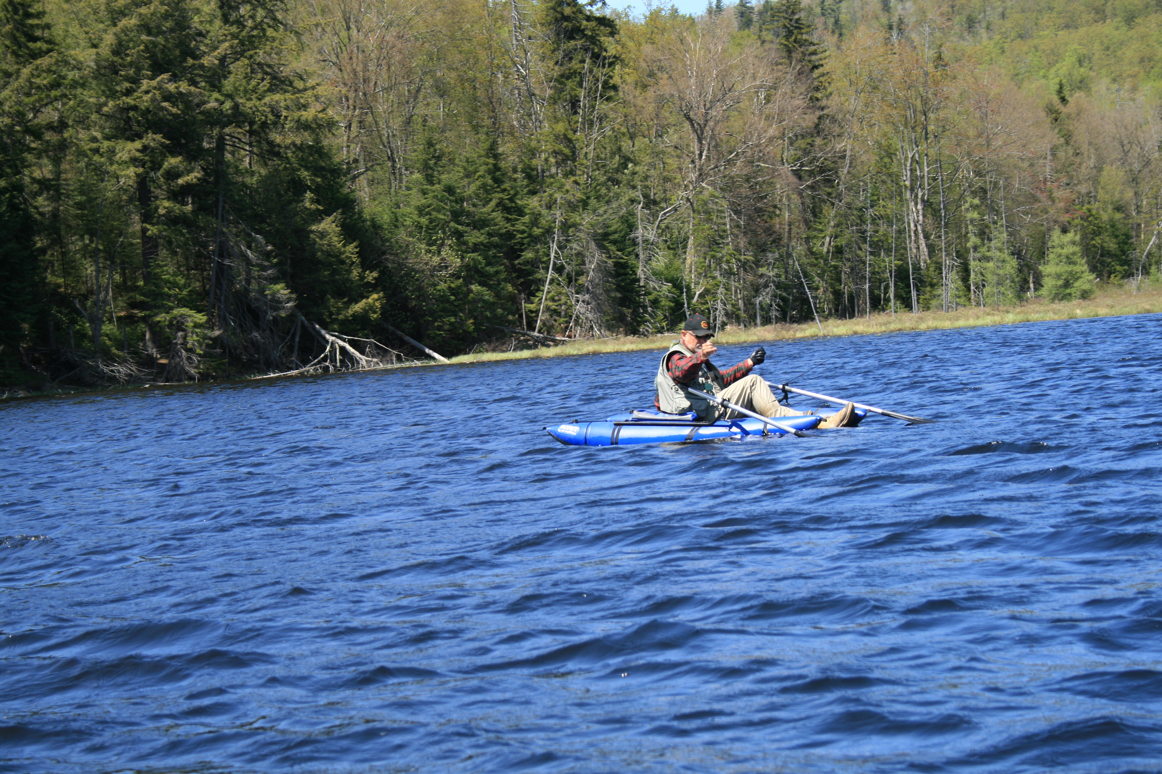 Adirondack pond fishing outback outfitters booking agency for Adirondack fly fishing